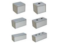 Single-Unit Aluminum Standard Switch Box W80 x H70