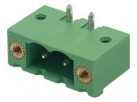 COMBICON Socket Header with Screw Flange (Horizontal)