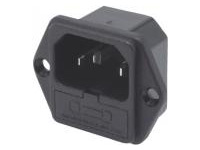 IEC Standard, Inlet with Fuse Holder (Screw)/C14
