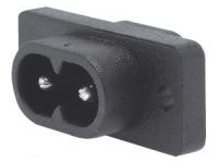 IEC Standard, Inlet (Screw)/C8
