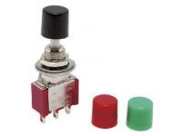 Non-illuminated Pushbutton Switch Mounting Hole φ6
