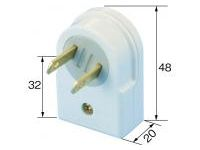 Extension Cord Parts, Rolling Tap (1-Port)