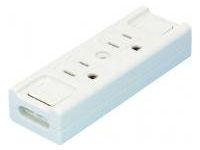 Extension Cord Parts, Temporary Outlet (2-Ports)