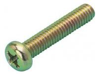 Small Pan Screw (Chromate Finish)