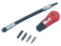 Screwdriver, Ratchet Screwdriver with Flexible Shaft