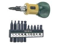 Screwdriver, Stubby Ratchet Screwdriver Set