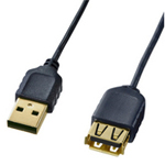 Ultra-thin USB extension cable (A⇔A female extension type)