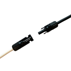 HCV Cable for Solar Power Generation, Extension Cable with MC4 Connector at Single End