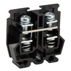Terminal Block Compatible with Both Rail and Direct Attachment, AT Series