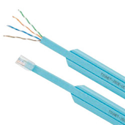 Cable LAN Cat5e tipo plano UTP (cable único)