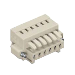 Spring Type Connector, 734 Series, 3.5 mm Pitch, Female - Compact Connector