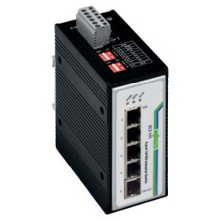 100BASE-TX Industrial Switch with 5 Ports or 8 Ports