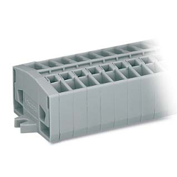 Compact Terminal Block / Screw or Snap-in or DIN Rail/264
