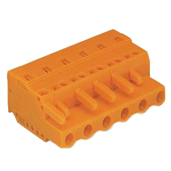 Spring Type Connector, 231 Series, 7.62 mm Pitch, Female and Male Sides Use 731-600 Series