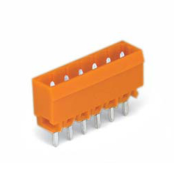 Male Header with A Solder Pin for The Spring Type Connector, 231 Series, 5.08 mm Pitch