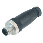 M12 Male Straight Connector