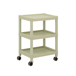 Mobile Cart (Rectangular Column Type) 3 Sages 675 x 435 x 850