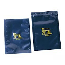 ESD Shield Bag (4-Layered Type) with Zipper 200 x 250 x 0.076