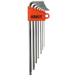 Long Ball Point Hex Wrench Set