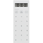 "White Calculator with Vibration Timer ""D Stick"""