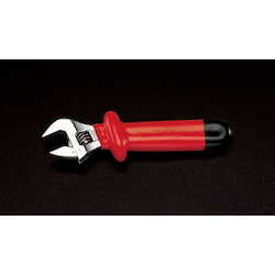 Insulated Grip Adjustable Wrench EA530H-385