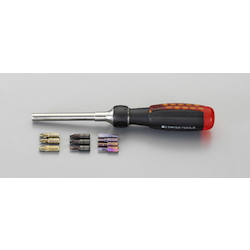 Screwdriver Set (Ratchet / Interchangeable Type) EA550-110