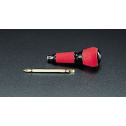 (+)(-) [Interchangeable] Power Grip Screwdriver EA557X-26