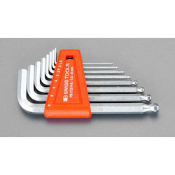 Hexagonal Key Wrench [With Ball Point] Set 6 Pcs EA573CD-60