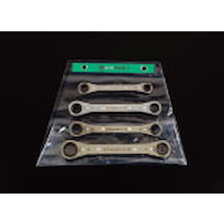 Ratchet Ring Wrench Set (4 Sizes) EA602CD-70A