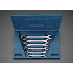 Ratchet Type Combination Wrench Set EA614LH-60B