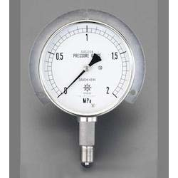 [All Stainless Steel] Pressure Gauge With Flange EA729DM-16