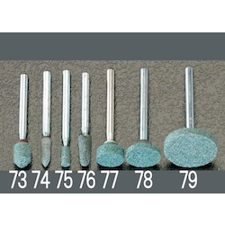 [3.2mm] Grinding stone with shaft EA818E-75