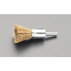 End Type Wire Brush with Shaft (6mm Shaft) EA819BV-9