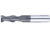 DLC Coated Carbide Square End Mill for Aluminum Machining, 2-Flute/3D Flute Length (Regular) Model