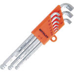 L Tipo Hollow Wrench Ball Point Stubby Long (cuello corto / tamaño imperial)