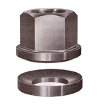 Circular Surface Flanged Nut with Seat