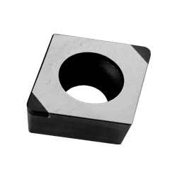 CBN Insert for Hardened Steel Processing with Rhomboid Hole 55° DCGW