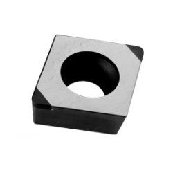 CBN Insert for Hardened Steel Processing with Rhomboid Hole 80° CCGW