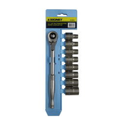 13831 1/2DR Stainless Steel Socket Wrench Set