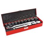 Socket Wrench Set (72 Peak Gear Ratchet Handle)