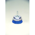 Cup Brush with Grit Shaft, with Abrasive Grain #180