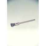 Miniature Steel Wire Shaft Mounted Cylindrical Brush
