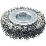 Wheel Brush (0.3 Stainless Steel Wire)