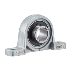 Pillow Unit, Silver Series Cylindrical Hole with Set Screw KP