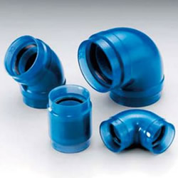 Transparent PC Core Fittings (TPC) - for Lining Steel Pipe Connection - Unequal Diameter Elbow