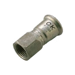Stainless Steel Tube Press Fitting SUS Press Faucet Socket