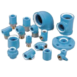 Pre-Sealed Core Fitting, Normal Type, for Connection of Lining Steel Pipes, Socket with Different Diameters