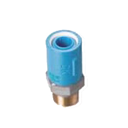 Pre-Sealed Core Fittings, Insulating Type, for Appliance Connection (Dissimilar Metals Contact Prevention-Type Fittings) Z Series, Male Adapter ZM, Socket