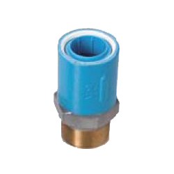 Preseal Core Joint, Insulation Type, for Device Connection (Fitting for Prevention of Contact Between Dissimilar Metals), Z Series, Male Adapter ZM Type, Reducing Socket