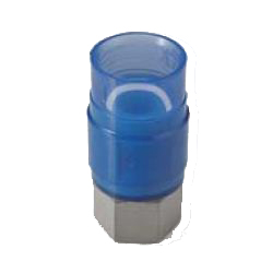 Pre-Seal Core, Transparent PC Core Fitting Insulation Type TPCZ Series Female Adapter Class TPCZF Socket (Fitting for Prevention of Contact Between Dissimilar Metals) for Device Connection